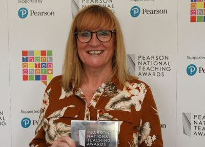 Mrs Angela Hilton – Teacher of the Year in a Primary School