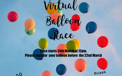 Virtual Balloon Race – 24th March 2021